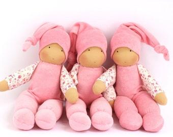 Schmusi, cuddle doll, 13 inch, soft doll, waldorf doll, steiner doll,