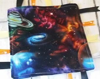 Solar Tag Blanket for boy or girl Planet Galexy Blanket