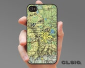 Vintage Mexico City  Map Case for iPhone 6/6S, 6+/6S+, 5/5S, 5C, 4/4S, iPod Gen 5, Samsung Galaxy S6, Galaxy S5, Galaxy S4, Galaxy S3