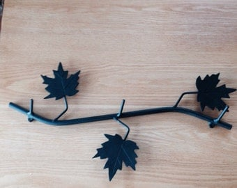 Branch Coat Rack Towel Rack Hat Rack Original By Adironstix
