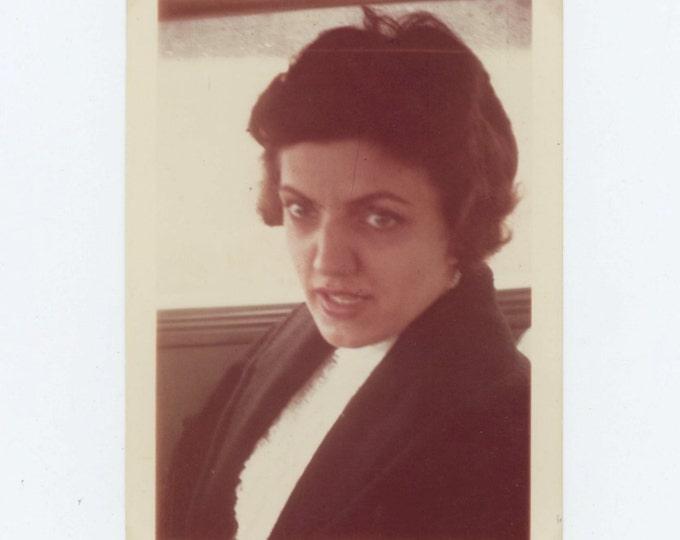 "Vintage Snapshot Photo: ""Mary Monica McKulla, 1962?"" (69498)"