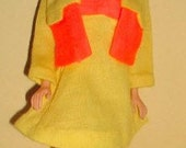 Barbie #1462 Rare Pair (1970) OUTFIT with ACCESSORIES Jacket Dress Stockings Shoe
