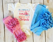 A Little Bit of Milk- embroidered ruffle bodysuit-M2M Sew Sassy pink- m2m Sew Sassy sky blue