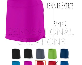 Tennis, Tennis Skirt, Monogrammed Tennis Skirt, Tennis Gear , Monogrammed Goldmf Skirt, Tennis Skirt, Monogrammed Tennis Wear