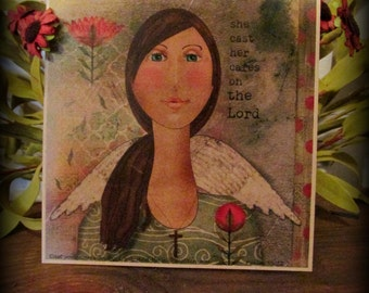 Cast Her Cares Print - FREE SHIPPING