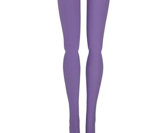 Obitsu 1/6 Scale Doll Stockings - Lilac Solid - Doll Clothes - 23cm - 27cm
