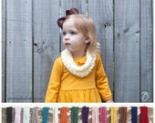 Fall Outfit - Toddler Infinity Scarf - Baby Scarf - Toddler Gift - Child Scarf - Girls Scarf - Toddler Cowl - Girl Toddler