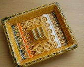 Gold, Vintage, Ashtray, made in Japan, mid-mod
