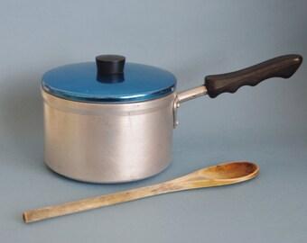 Aluminium saucepan / cook pot anodised aluminum lid pot