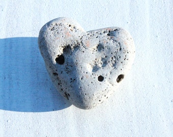 beach pebble heart sea stones heart shaped rock  genuine Scottish beach finds (25)
