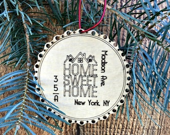 Apartment warming etsy for First apartment ornament