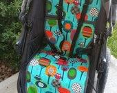 custom bob stroller liner/pram - 1 reversible seat liner