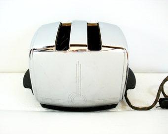 Vintage Sunbeam Model T 20-B Chrome Toaster