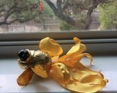 OOAK Art Doll - Goldfish
