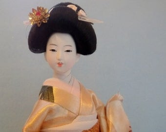 S * A * L * E _______ Japanese GEISHA Doll * Beautiful Japanese Collectible Doll * Asian Doll * Made in Japan