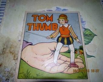 1940's Linenette Tom Thumb Children's Story Book No 430