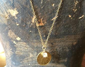 Euro Coin Necklace