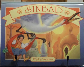 Sinbad Pop-Up Storybook 1994 Grandreams Limited A Children's Pop-up Book