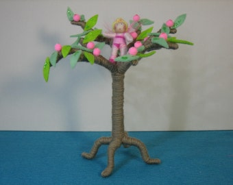 Fairy tree with tiny fairy