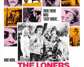 Vintage Original Movie Poster 1- sheet the loners