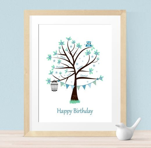 70th Birthday Gifts Family Gift Ideas Mother In Law