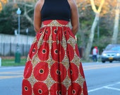 Cinnamon Spice- Maxi Skirt - Ready to Ship - SALE!