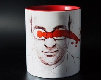 Charlie Cox - Daredevil - The Defenders - Hand Crafted Cup
