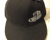 Grizzly Snuff Adjustable Black Hat