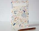 "1 ""Jardin"" notebook - 1 carnet ""Jardin"""