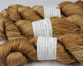 Grounded Poetry 50/50 SW merino/silk fingering weight yarn