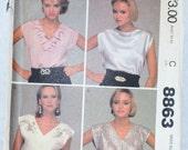 McCall's Women's Pattern 8863-Size large