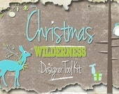 Christmas Wilderness Clipart Collection