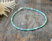 seafoam and white anklet beach wear surf blue ocean summer vacation holiday wear