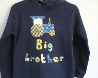 Big Brother hoodie t-shirt - Personalised children's clothes