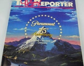 Movie Collectors' Book, The Hollywood Reporter July, 1987, Paramount Pictures Turns 75, Huge Book of Memories and Accolades #65