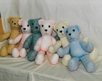Patterns and instructions to sew Bears, easy to do!