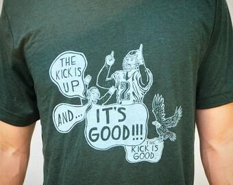 "FREE SHIPPING -- ""It's Good!!!""  Merrill Reese and David Akers -- Paul Carpenter Art -- Unisex Philly Artist Print Tee Shirt"