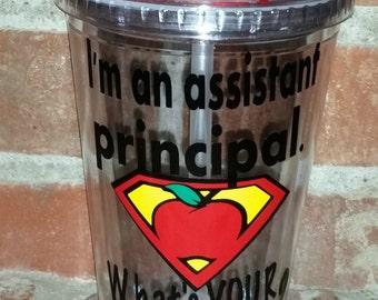 Assistant Principal Gift - Principal Gifts - Gift for Principal- Teacher Appreciation - Vice Principal Gift - Teacher Appreciation
