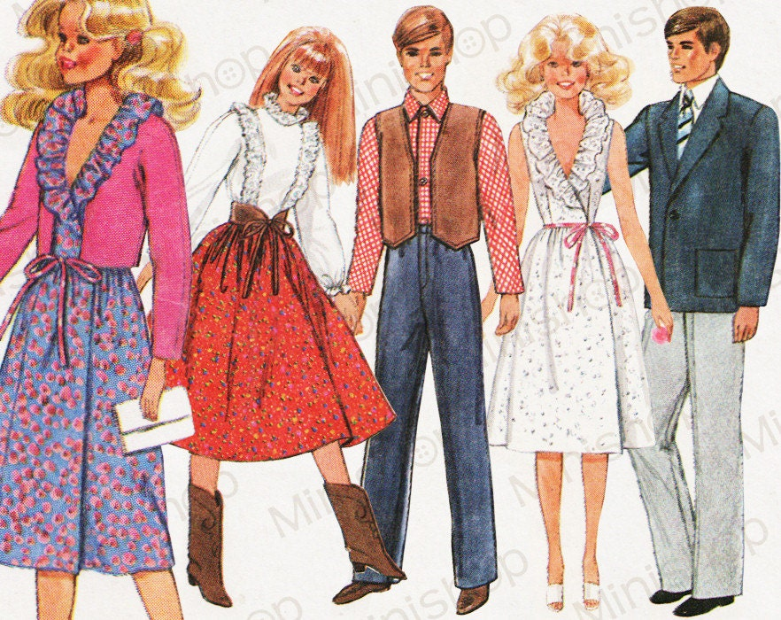 It is a graphic of Gratifying Ken Doll Patterns