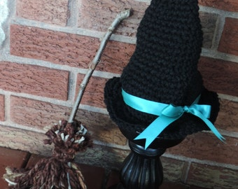 Newborn Witch Hat and Broom