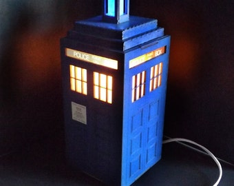 Calling Doctor Who Fans - Police Call Box  Night Light