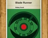 Ridley Scott - Blade Runner - Classic Book Cover Poster (Various Sizes)