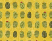 Cooking Italiano Olives in Yellow by Sue Schlabach  for Windham Fabrics