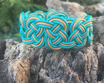 Miami Braided Leather Bracelet