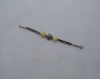 Vintage afghanistan jade bracelet