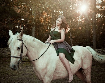 SALE Corset Fairie Dress