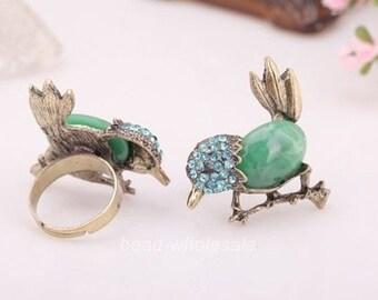 Vintage Bluebird Ring