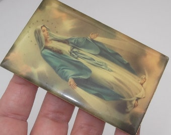 Lovely Religious Image Virgin Mary, Our Lady Picture, Icon, Shrine, Christian, Catholic