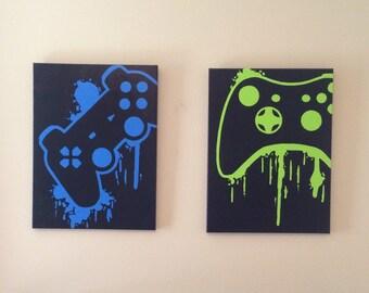 Video Game Controller Art