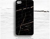iPhone 6S GOLD Metallic Marble Case, Black Marble iPhone 5s Case, Gold iPhone 6 Case, iPhone 5C Case, Gold iPhone 6 Case, iPhone 6S Case M27